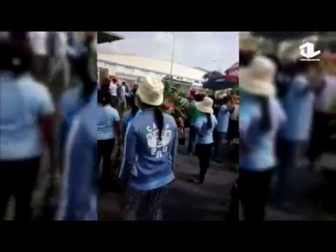 Công nhân KCN Tân Hương Tiền Giang đình công 2/4/2015