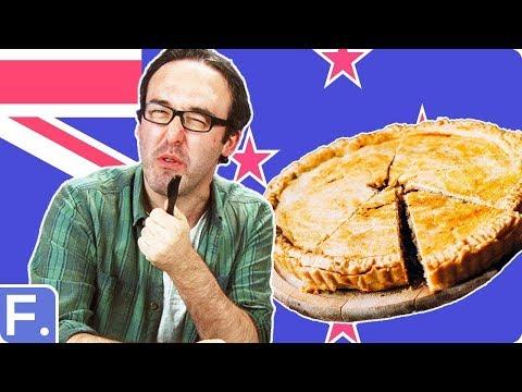 Irish People Taste Test New Zealand Pies
