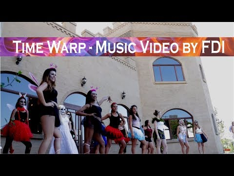 The Time Warp Music Video By Fusion Dance International Studio - Youth Awards 2016 -