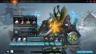 Dota 2 - Claim FrostHaven Reward Lvl12 + Treasure of the Autumn Flurry Perfect World