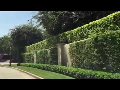 Tour the finest street in Los Angeles - Mapleton Drive in the Holmby Hills area. Christophe Choo