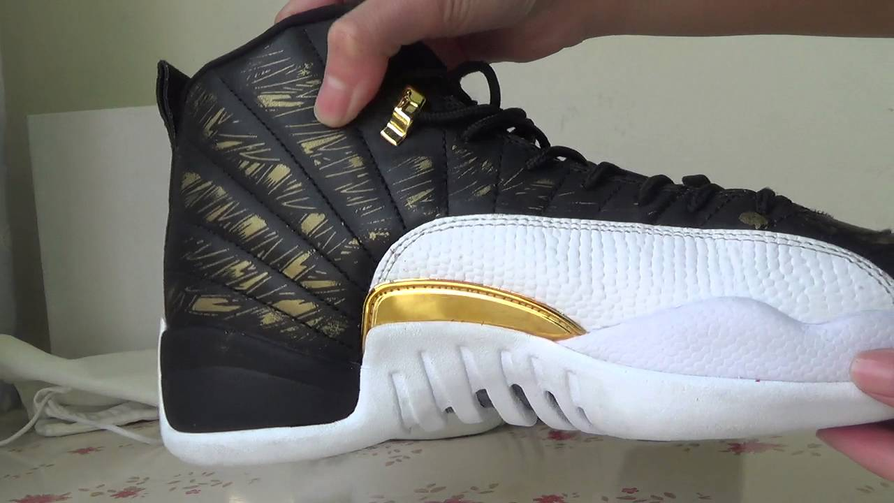 "1cff5262dd7 Authentic Air Jordan 12 ""Wings"" hot sale - YouTube"