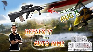 PAKE CHEAT AIM?! - Rules of Survival PC Indonesia