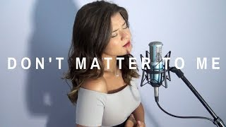 Don't Matter To Me - Drake ft. Michael Jackson (Cover by Victoria Skie) #SkieSessions