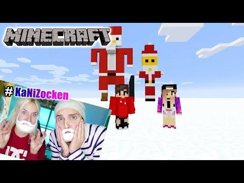 NINAS WEIHNACHTSMANN vs KAAN WEIHNACHTSMANN! Minecraft Build Battle #KaNiZocken
