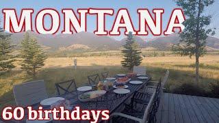 Celebrating my dads 60th birthday in Montana