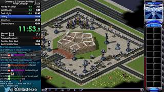 38:27 - Command & Conquer: Red Alert 2 Allied Campaign Speedrun