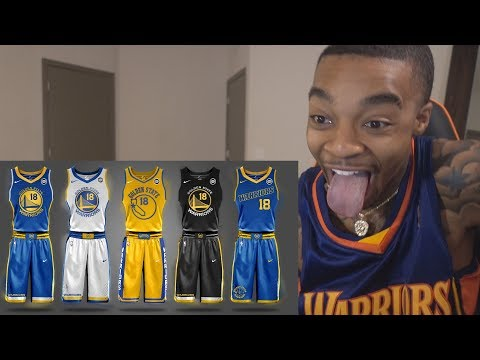 EVERY NEW NBA NIKE JERSEY FOR For All Teams 2017-2018 Season REACTION & THOUGHTS!