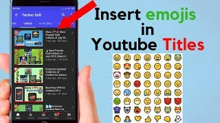How to Insert EMOJI in Youtube Titles Comments & Description screenshot 5