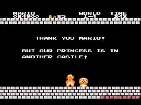 Mario Gets RickRoll'd