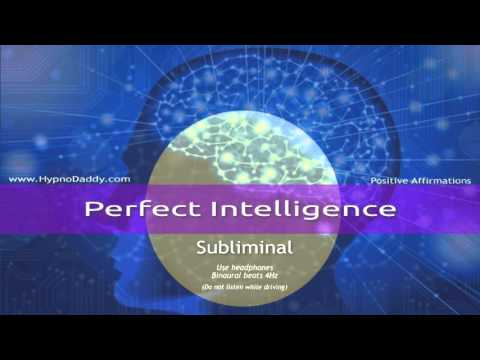 Perfect Intelligence Subliminal