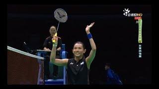 羽球亞錦賽-戴資穎vs賽娜 公視3台20180428 Tai Tzu Ying vs Saina
