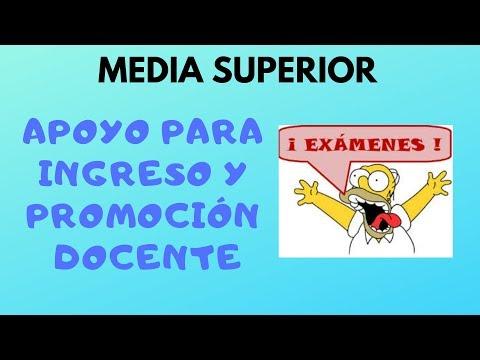 Soy Docente: APOYOS PARA MEDIA SUPERIOR 2019