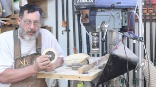 Sanding On The Drill Press:   Fundamentals Of Woodturning