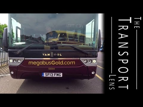 A Look Around A Megabus Gold Sleeper - Carlisle Open Day May 2017