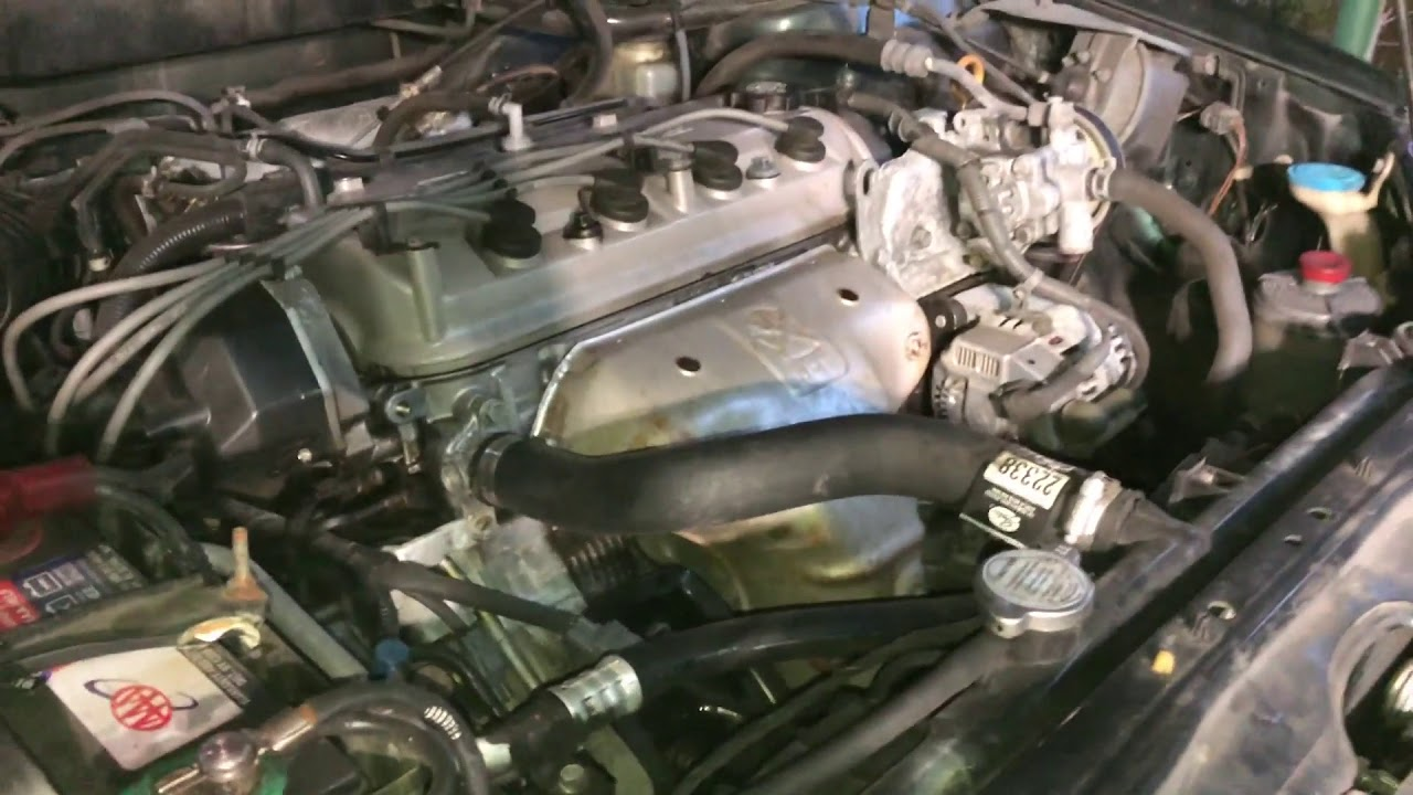 1998 Honda Accord Front Engine Mount Replacement Youtube
