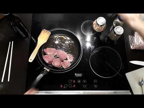 Как вкусно пожарить свиную вырезку на сковороде