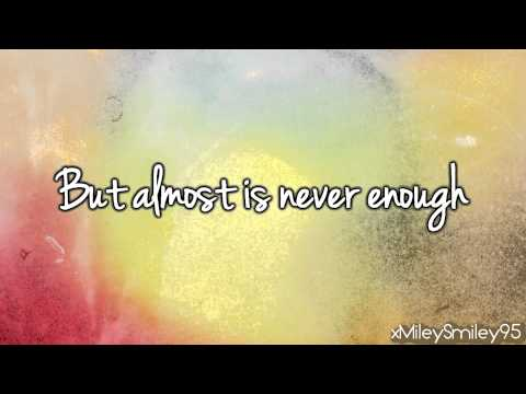 Ariana Grande ft. Nathan Sykes - Almost Is Never Enough (Soundtrack Version) (with lyrics)