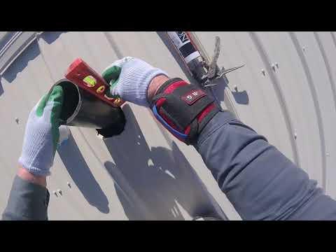 Plumbing Vent Pipe Thru Metal Roof, Update 22