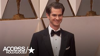 Oscars 2017: Can Andrew Garfield Top His Ryan Reynolds Golden Globes Kiss? | Access Hollywood