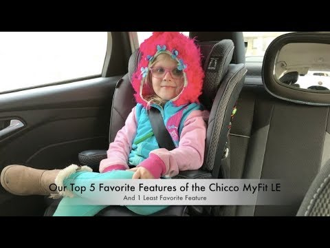 a4316eeb5e536 Chicco MyFit LE Harness+Booster Car Seat Review - YouTube