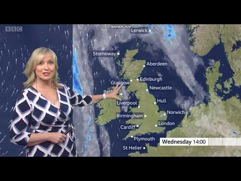 Carol Kirkwood - BBC Weather - (20.05.2020) - HD [60 FPS]