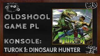 turok dinosaur hunter 01 polowanie czas zacząć n64 1997 osg pl