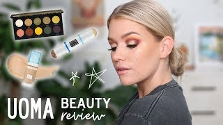 NEW BRAND ALERT - UOMA BEAUTY REVIEW | Samantha Ravndahl