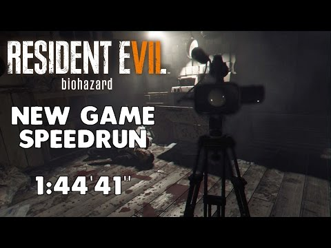 Resident Evil 7 - New Game Speedrun - 01:44:41