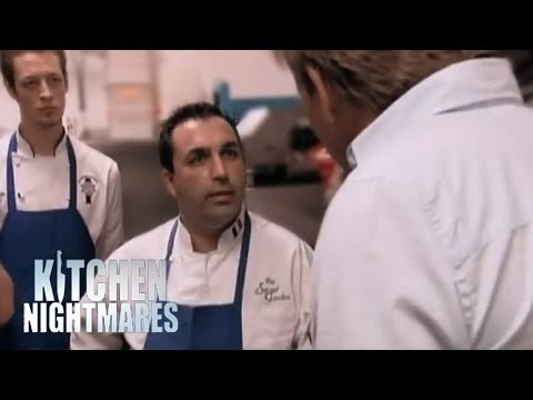 Gordon Confronts Arrogant French Chef - Kitchen Nightmares