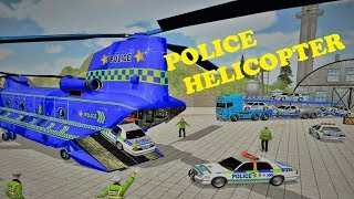 Offroad Police Truck Transport  Cargo Helicopter Mobile Game