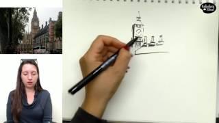 Как делать линейный рисунок