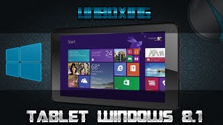 Unboxing Tablet con Windows 8.1 // iView Supra I700qw Windows 8.1