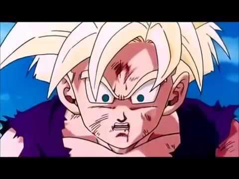 Gohan vs cell dublado portugu s youtube - Dragon ball gohan super saiyan 4 ...