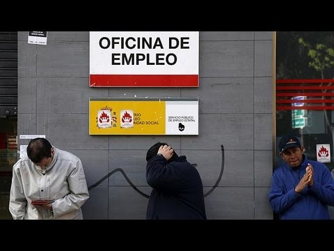 Spain's record unemployment rate highlights plight of jobless generation