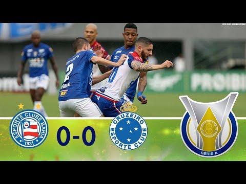 Melhores Momentos - Bahia 0 x 0 Cruzeiro - Campeonato Brasileiro (02/12/2018)