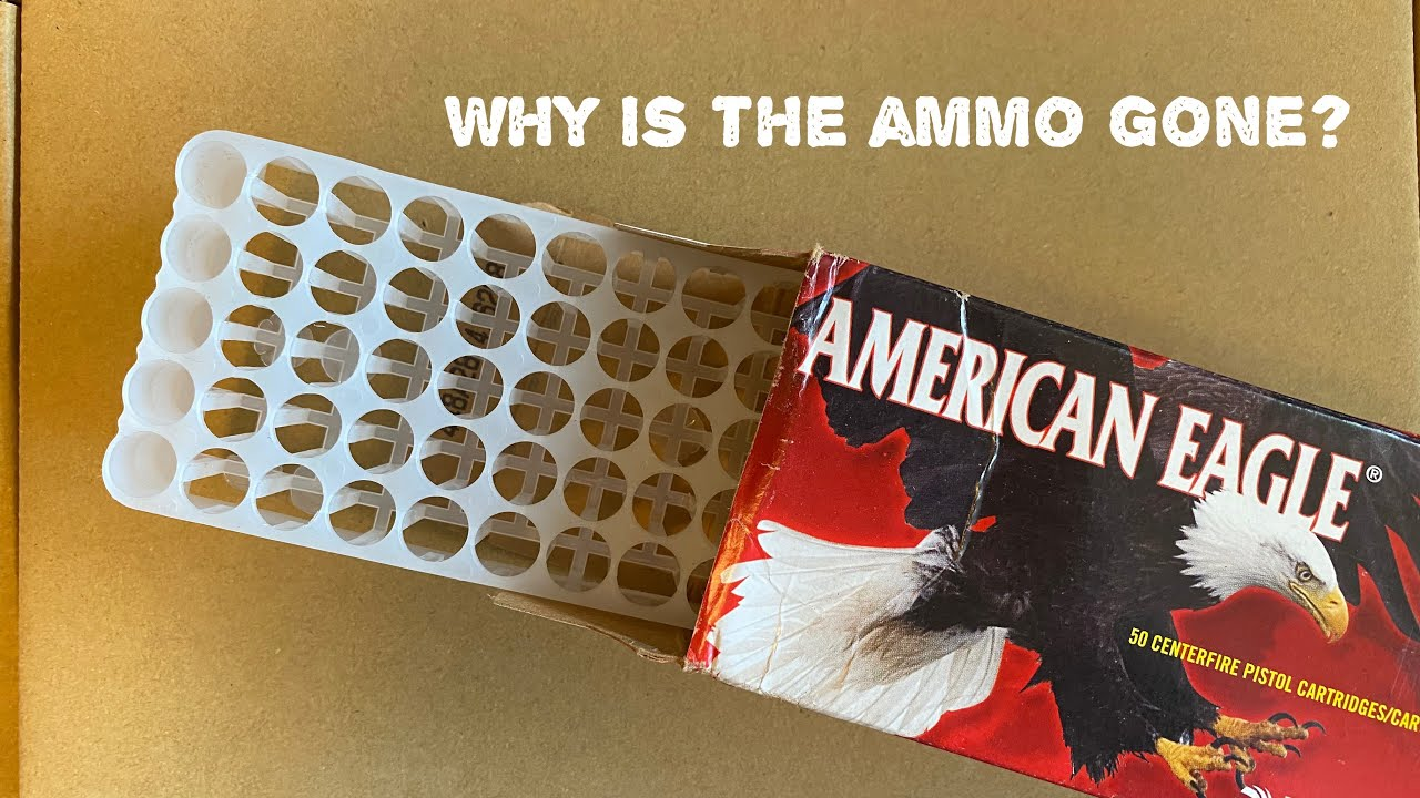 Why is the ammo gone?