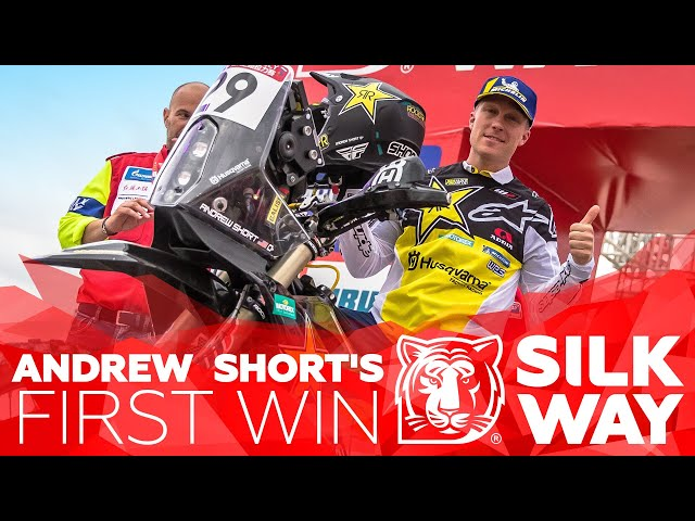 USA's Andrew Short's first WIN | Silk Way Rally 2019🌏 - Stage 9