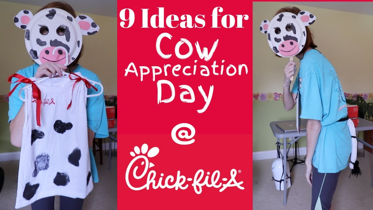 Cow Appreciation Day 2019: Costume Ideas to Get Free Food at Chick-fil-A