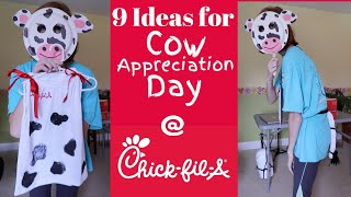 9 DIY Cow Costume Ideas for Cow Appreciation Day at Chick-fil-a | Tuesday, July 9th, 2019