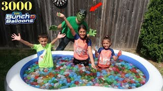 3000 Bunch O Balloons Water Balloons Fight Kids Pretend Play