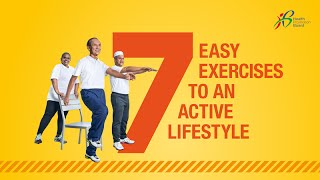 Do these 7 easy exercises to ensure you stay fit and healthy! remember this fitness routine two times a week strengthen your muscles, make f...