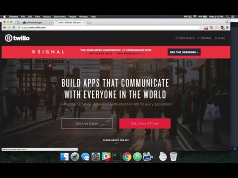 Two Way Text Messaging with Twilio