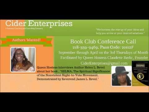 Cider Enterprises Book Club Presents Author Helen Bevel