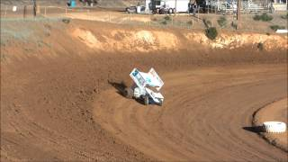 KWS 410 Sprint Cars- Placerville Qualifying