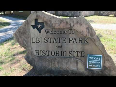 Blanco SP Lyndon B Johsnon Parks Luckenbach Texas