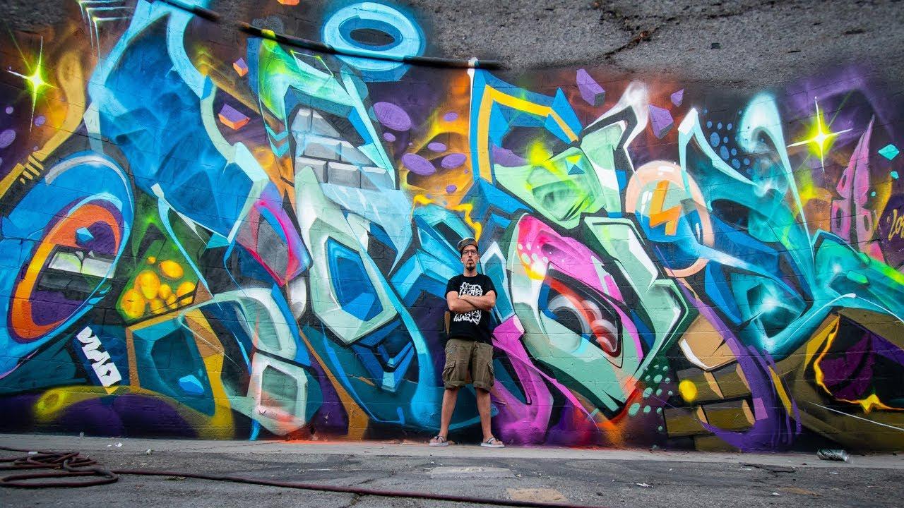 Heliobray graffiti in los angeles presented by ewkuks loop