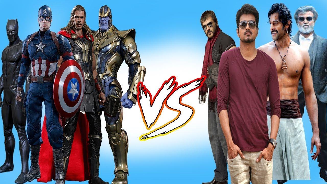 Marvel Super heroes vs Tamil Songs | Marvel Studios | Infinity War I Avengers