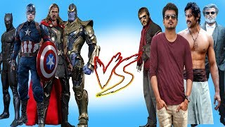 Marvel Super heroes vs Tamil Songs | Marvel Studios | Infinity War I Avengers