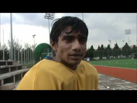 Indian hockey goalkeeper Adrian D'Souza Interview Azlan Shah Hockey Cup 2011